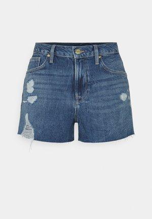 LE BRIGETTE RAW EDGE - Denim shorts - chavez soho