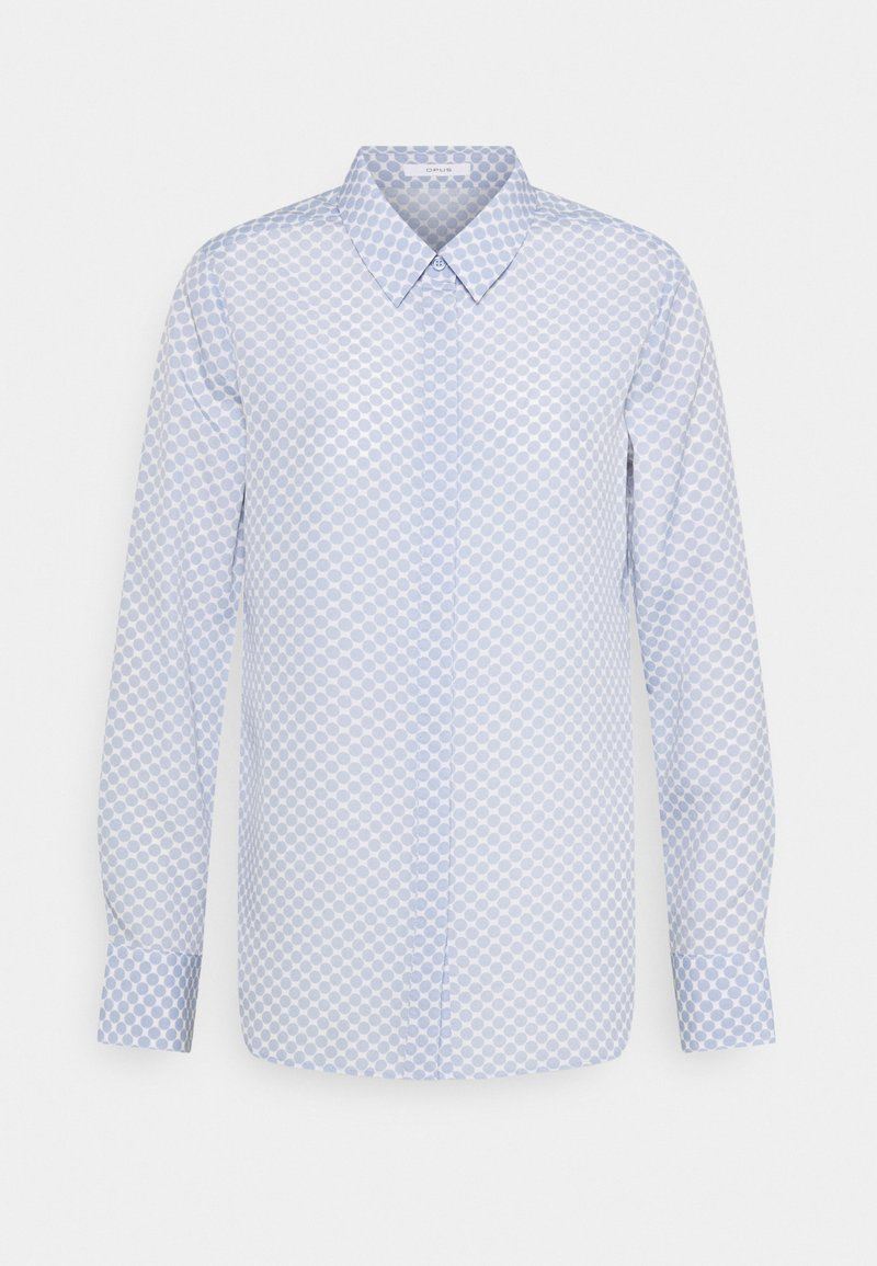 Opus - FASTINE CIRCLE - Button-down blouse - blue mood