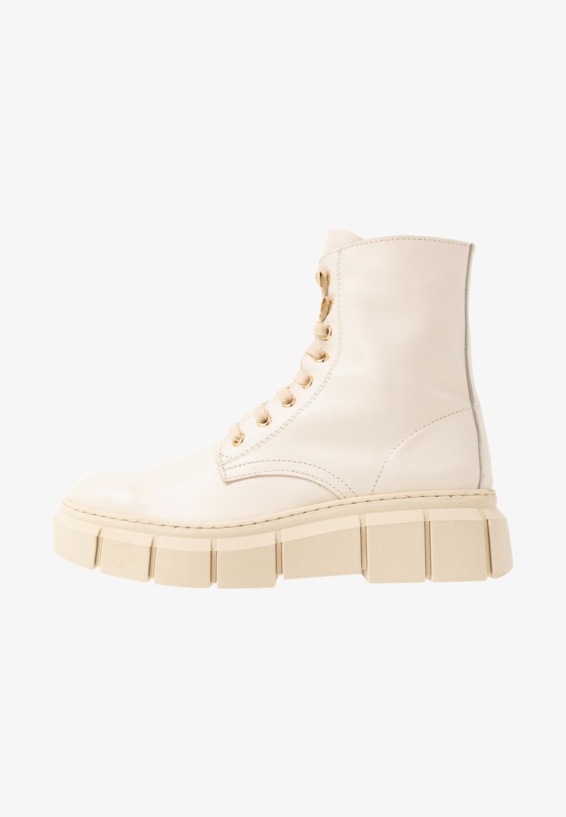 Kaltur - LOR - Platform ankle boots - beige