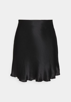 SHORTY SKIRT - Falda acampanada - black