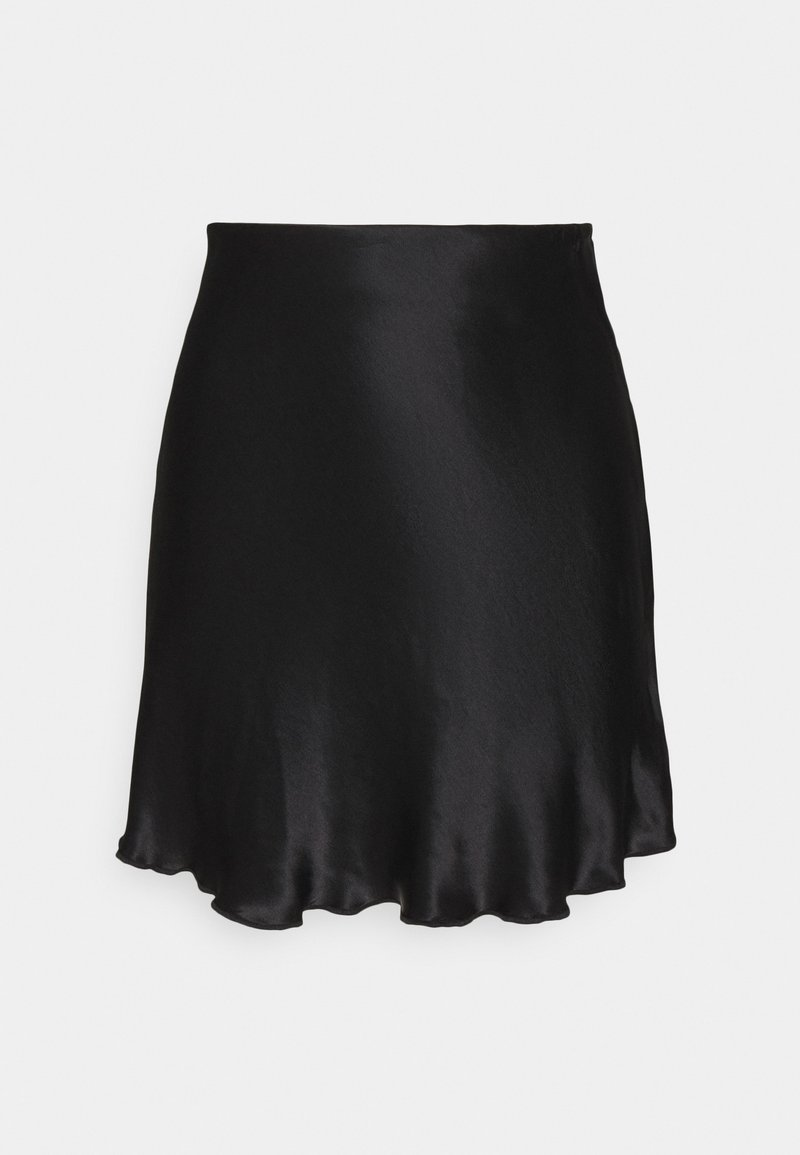 Weekday - SHORTY SKIRT - A-snit nederdel/ A-formede nederdele - black