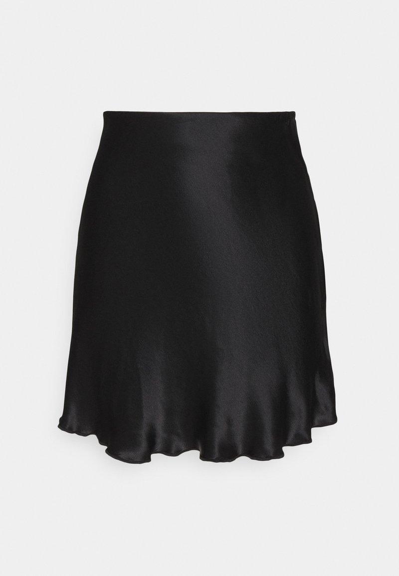 Weekday - SHORTY SKIRT - Áčková sukně - black