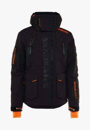 ULTIMATE SNOW RESCUE - Snowboardjacka - onyx black