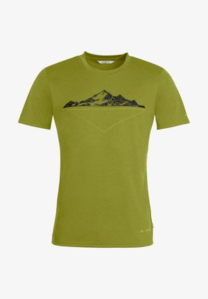MENS TEKOA - Print T-shirt - avocado