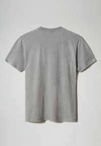 Napapijri - SIROL - Print T-shirt - medium grey melange - 4