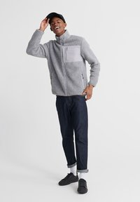 Superdry - Fleece jacket - grey - 1