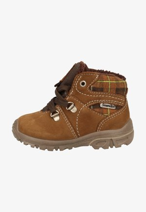 Chaussures premiers pas - caramel/schoko 282