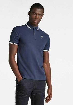 Polo shirt - sartho blue
