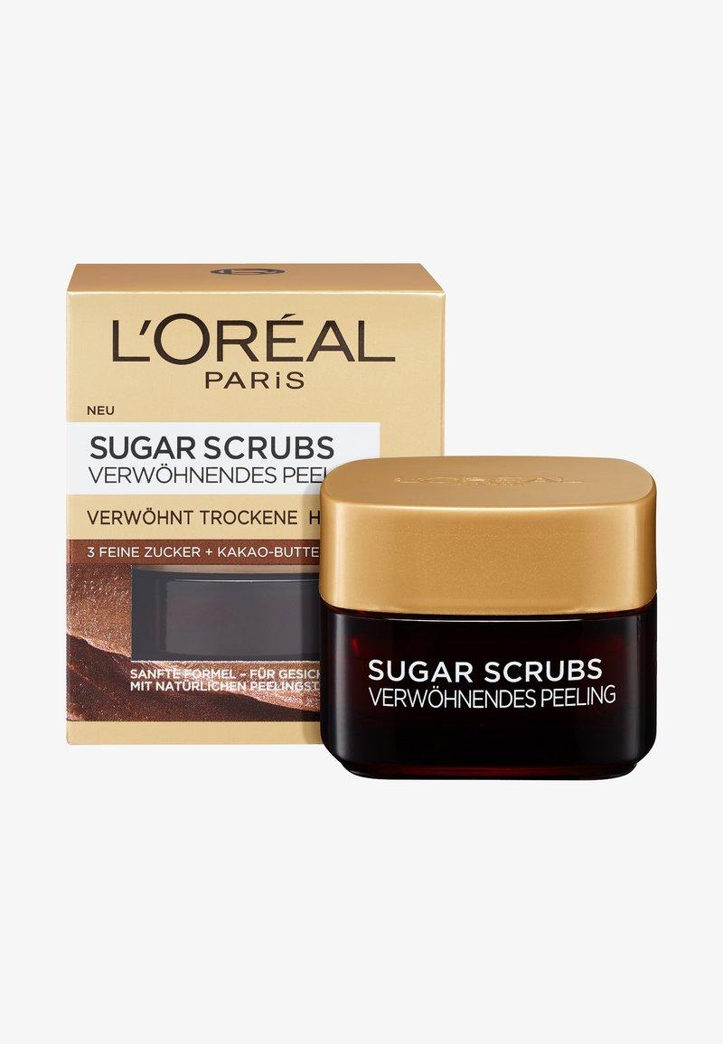 L'Oréal Paris - SUGAR SCRUBS NOURISHING 50ML - Peeling viso - -