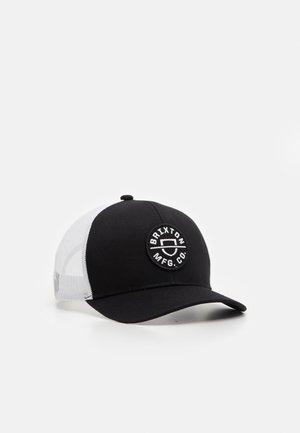 CREST UNISEX - Cap - black