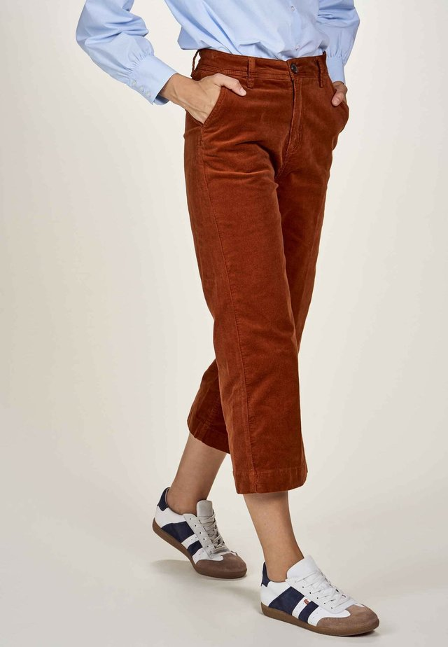 Pantalon classique - danish brown