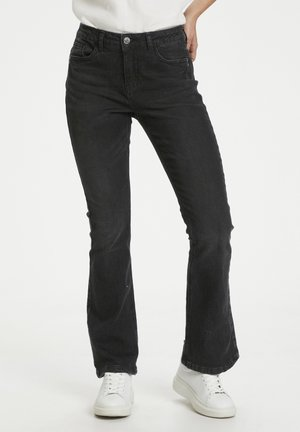 CUSASIA - Bootcut jeans - black wash