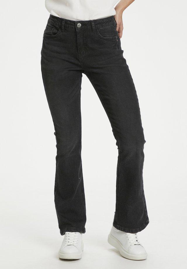 CUSASIA - Jeans bootcut - black wash