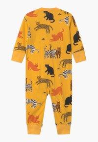Lindex - CAT STORY UNISEX - Pyjama - dark dusty yellow - 1