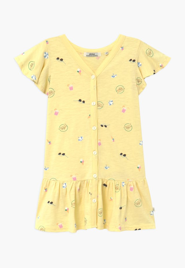 HENRIETTA - Jersey dress - yellow