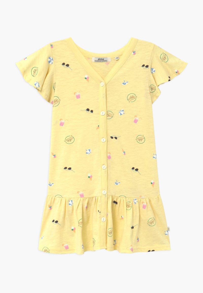 Ebbe - HENRIETTA - Žerzejové šaty - yellow