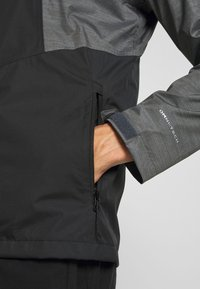 Columbia - INNER LIMITS™ JACKET - Veste Hardshell - black/graphite heather - 5