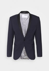 Selected Homme - SLHSLIM SKYLOGAN TUX - Blazer jacket - navy blazer - 6