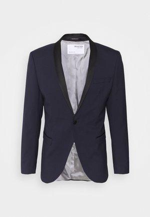 SLHSLIM SKYLOGAN TUX - Blazer jacket - navy blazer
