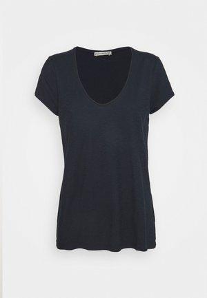 AVIVI - Basic T-shirt - dark blue / light blue