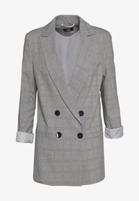 Wallis - CHECKED - Short coat - grey - 2