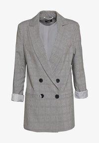 CHECKED - Halflange jas - grey