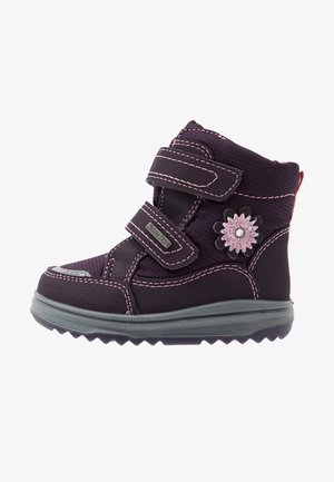 Winter boots - aubergine/coquille