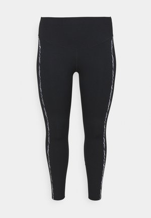 ONE LUX - Leggings - black/purple chalk/clear