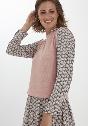 Bluser - misty rose melange