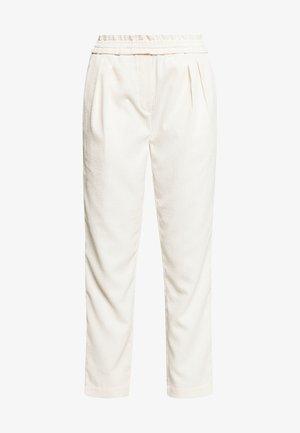 VALKA PANTS - Pantalones - off white