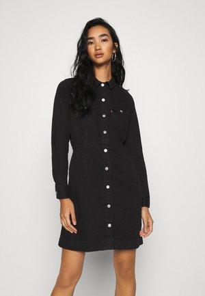 ELLIE DRESS - Dongerikjole - black book