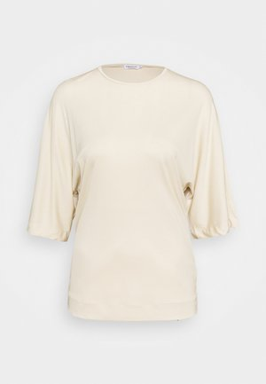 ANNABEL - T-shirt basique - soft beige