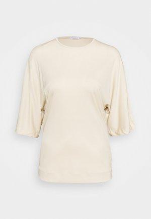 ANNABEL - Basic T-shirt - soft beige