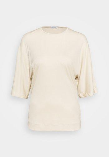 ANNABEL - T-shirt - bas - soft beige