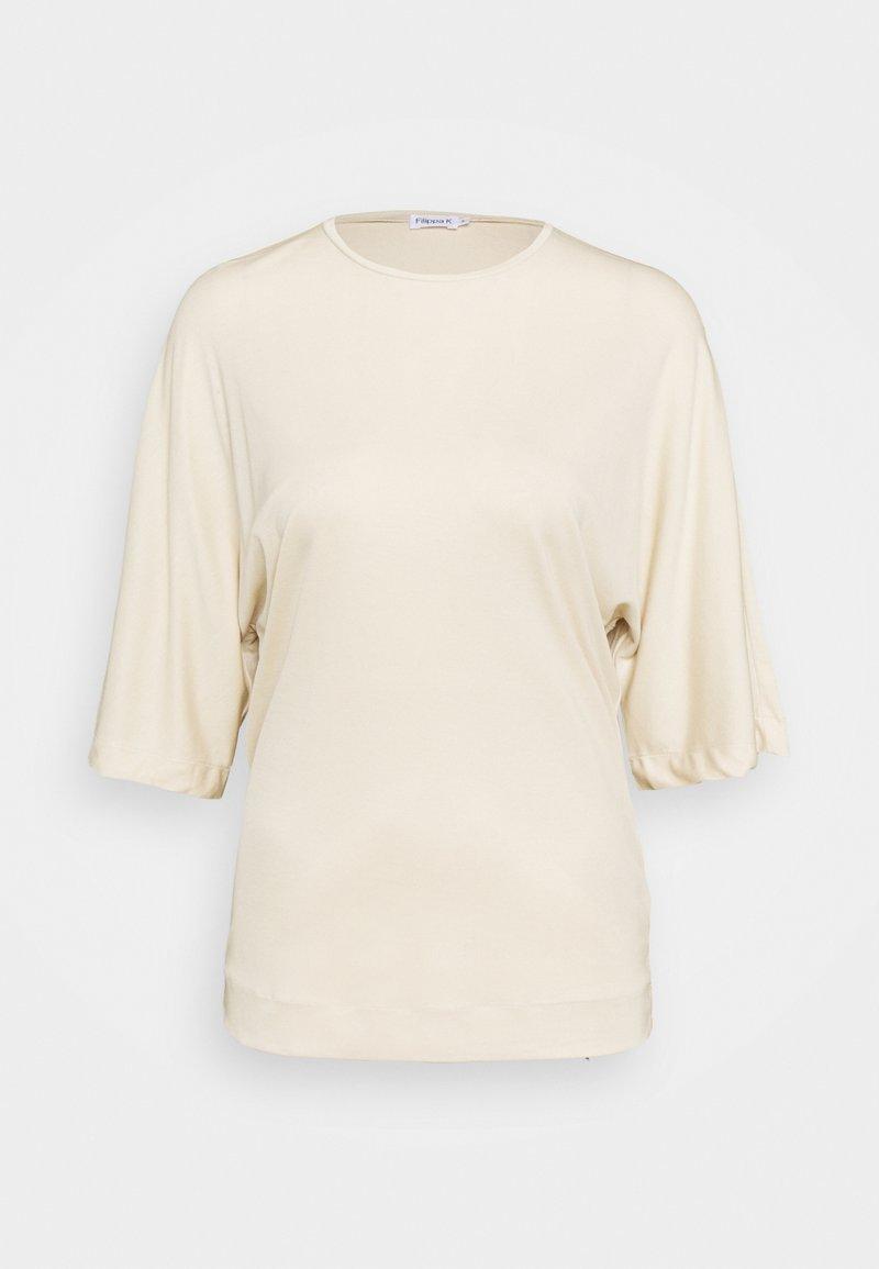 Filippa K - ANNABEL - Jednoduché triko - soft beige