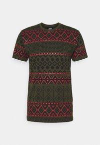 Denim Project - TEE - T-shirt z nadrukiem - deep depths - 4