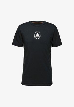 MASSONE MEN - T-shirt z nadrukiem - black prt