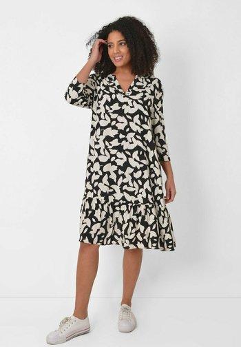 MONO LEAF - Day dress - black