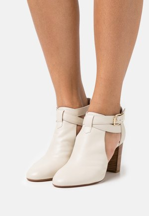 AULHORA - Ankle boots - ivoire