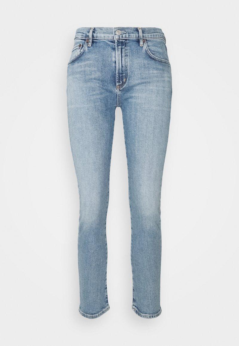 Agolde - PRECIPICE TONI MID RISE - Slim fit jeans - precipice light indigo