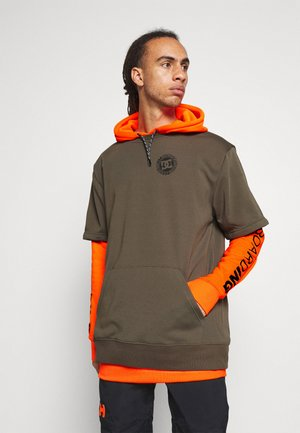 DRYDEN - Kapuzenpullover - shocking_orange