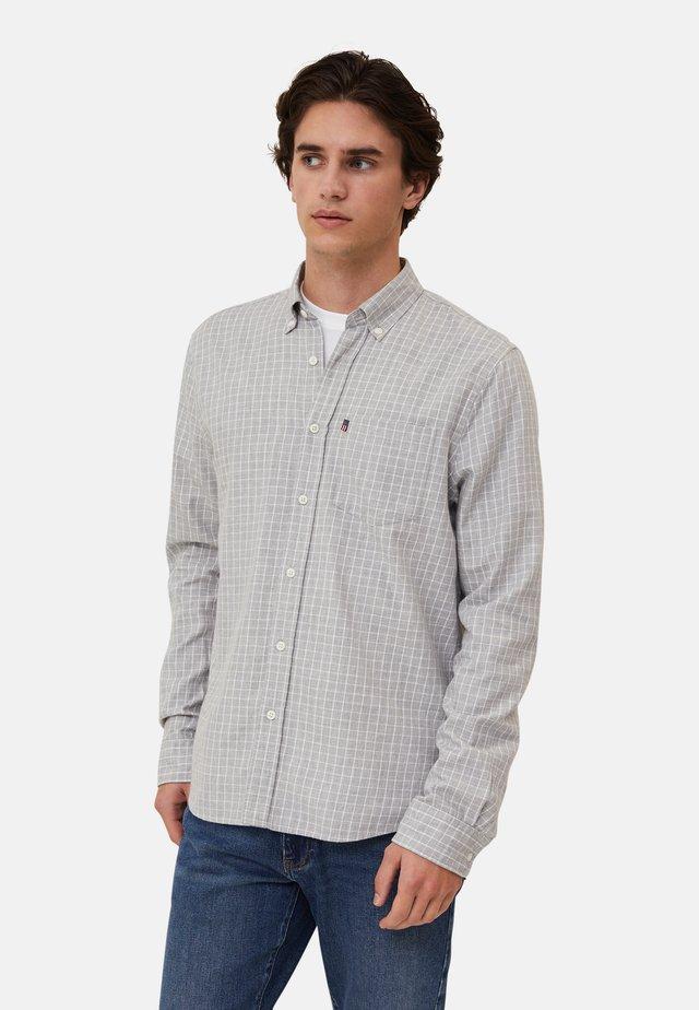 PETER  - Camicia - gray/white check