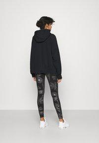 Nike Sportswear - AIR HOODIE PLUS - Zip-up hoodie - black - 2