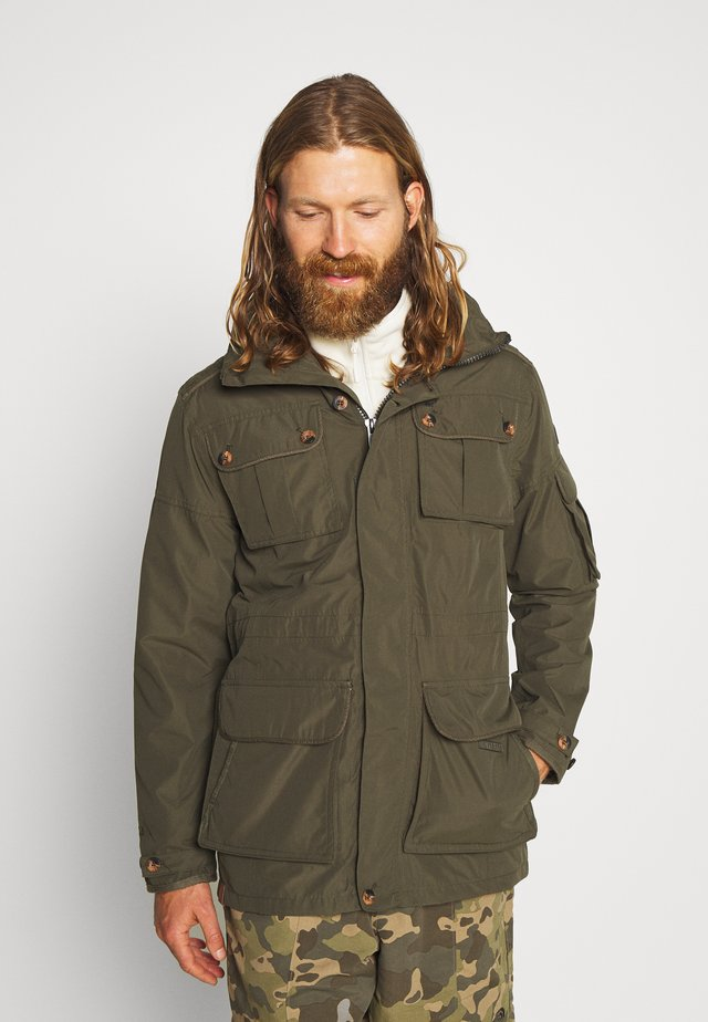 ELMORE - Kurtka Outdoor - dark khaki