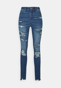 American Eagle - CURVY JEGGING - Jeans slim fit - sky blue - 5