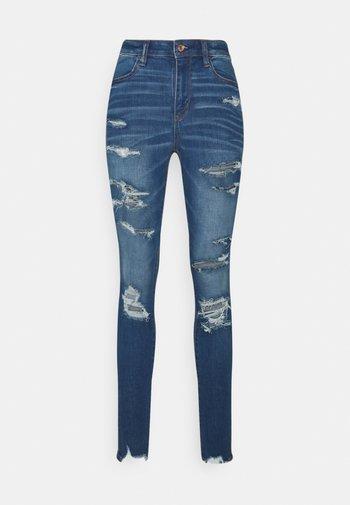 CURVY JEGGING - Jeans slim fit - sky blue