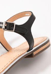 Geox - SOZY PLUS - T-bar sandals - black - 2