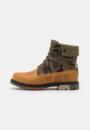 6 IN HERITAGE WP - Bottines à lacets - wheat