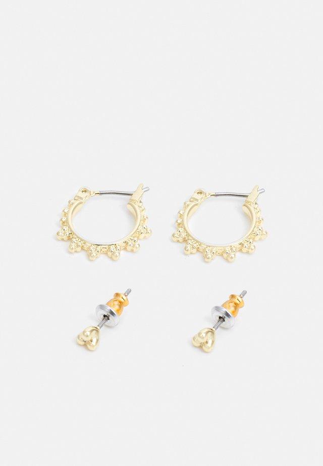 EARRINGS KATE 2 PACK - Korvakorut - gold-coloured
