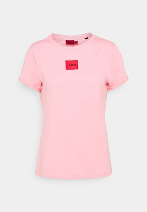 THE SLIM TEE REDLABEL - Triko s potiskem - bright pink